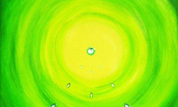 Energiebild---Herzchakra--Strahlendes-Herz